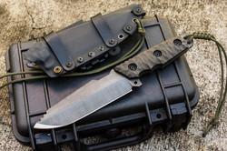 Krusader indestructible fixed blade