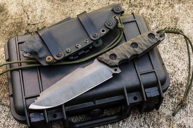 unbrakable survival fixed blade krusader