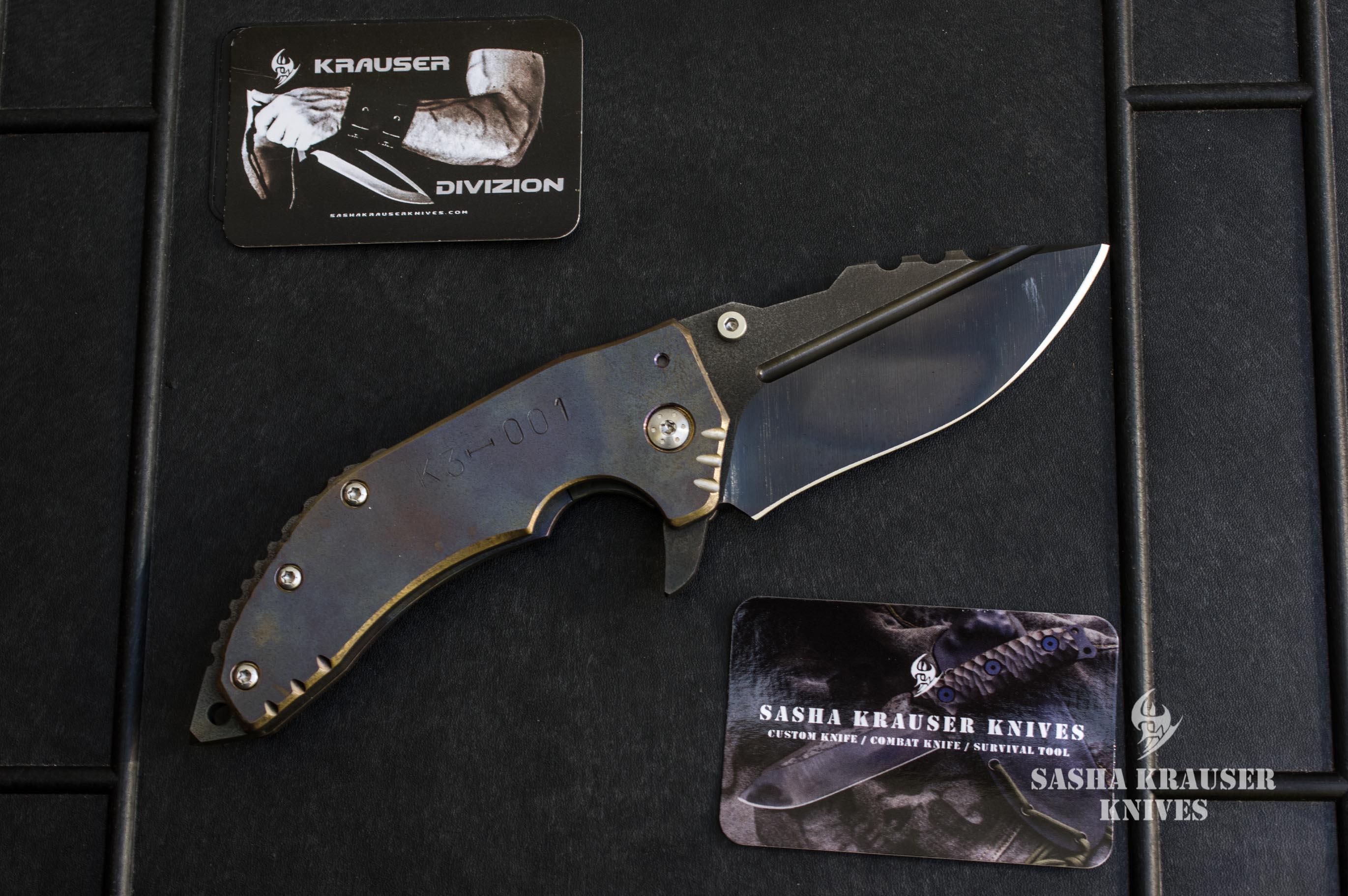 Katharsys K3 recurve version gaucher