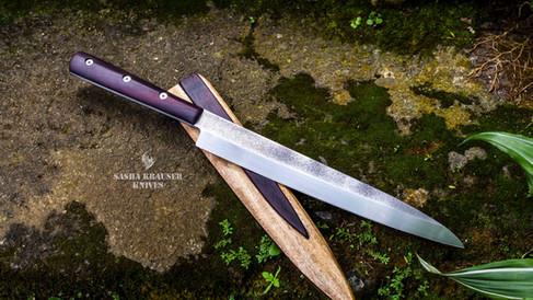 yanagiba Urasuki couteau haut de gamme