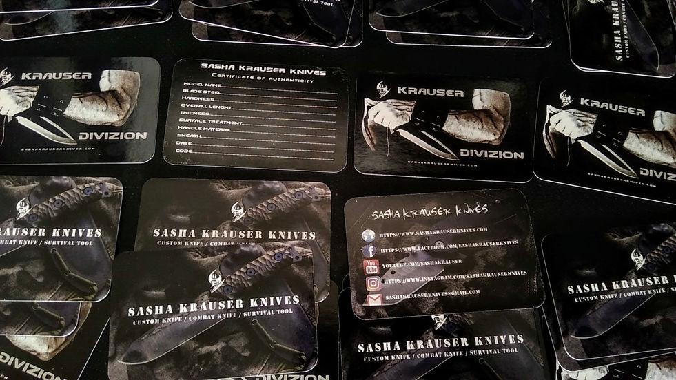 carte visite sasha krauser knives