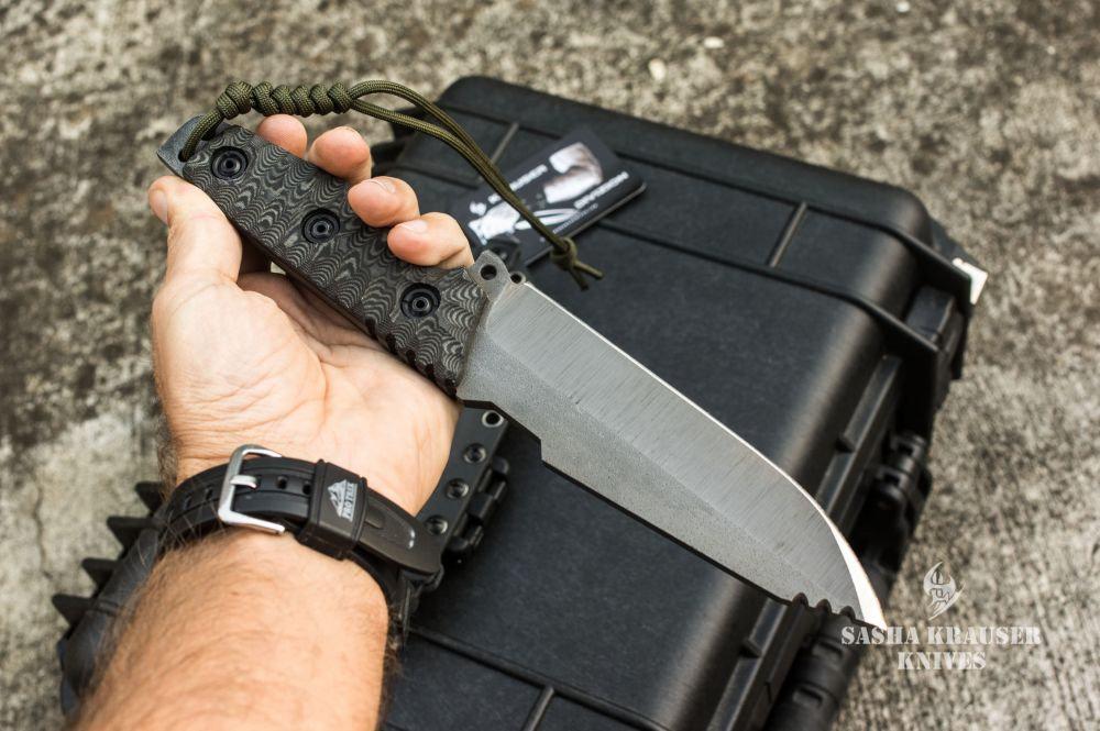 couteau de survie indestructible krusader