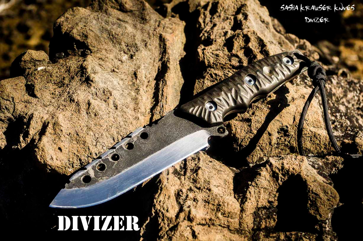 Divizer combat fighting knife