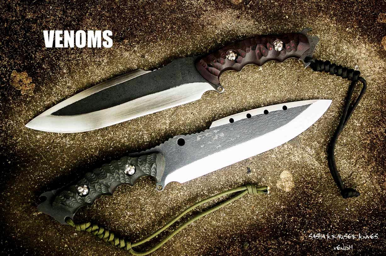 Venom big fighter hunting survival blade