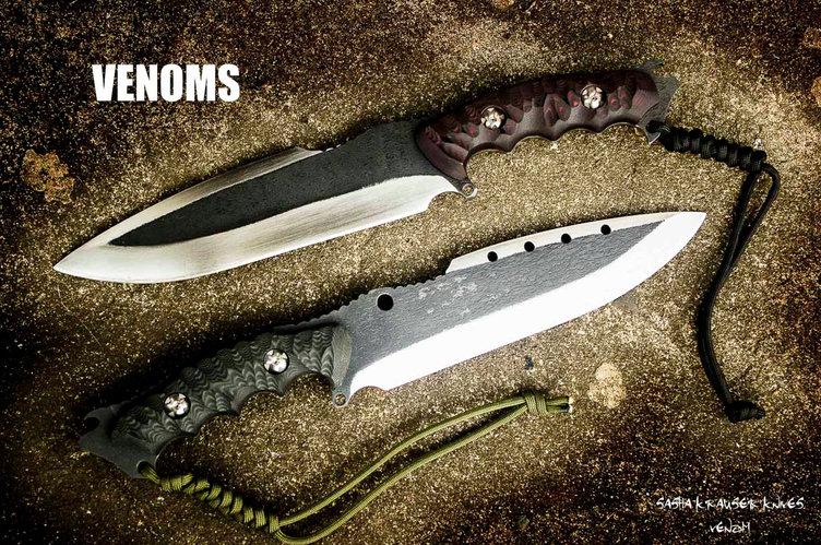 Venom knife big bowie bushcraft