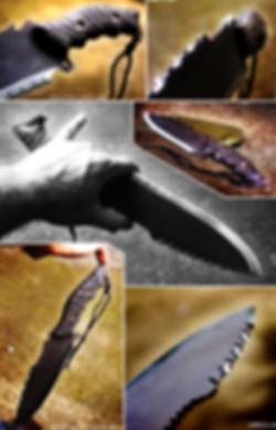 clégan big fighter survival drop point blade