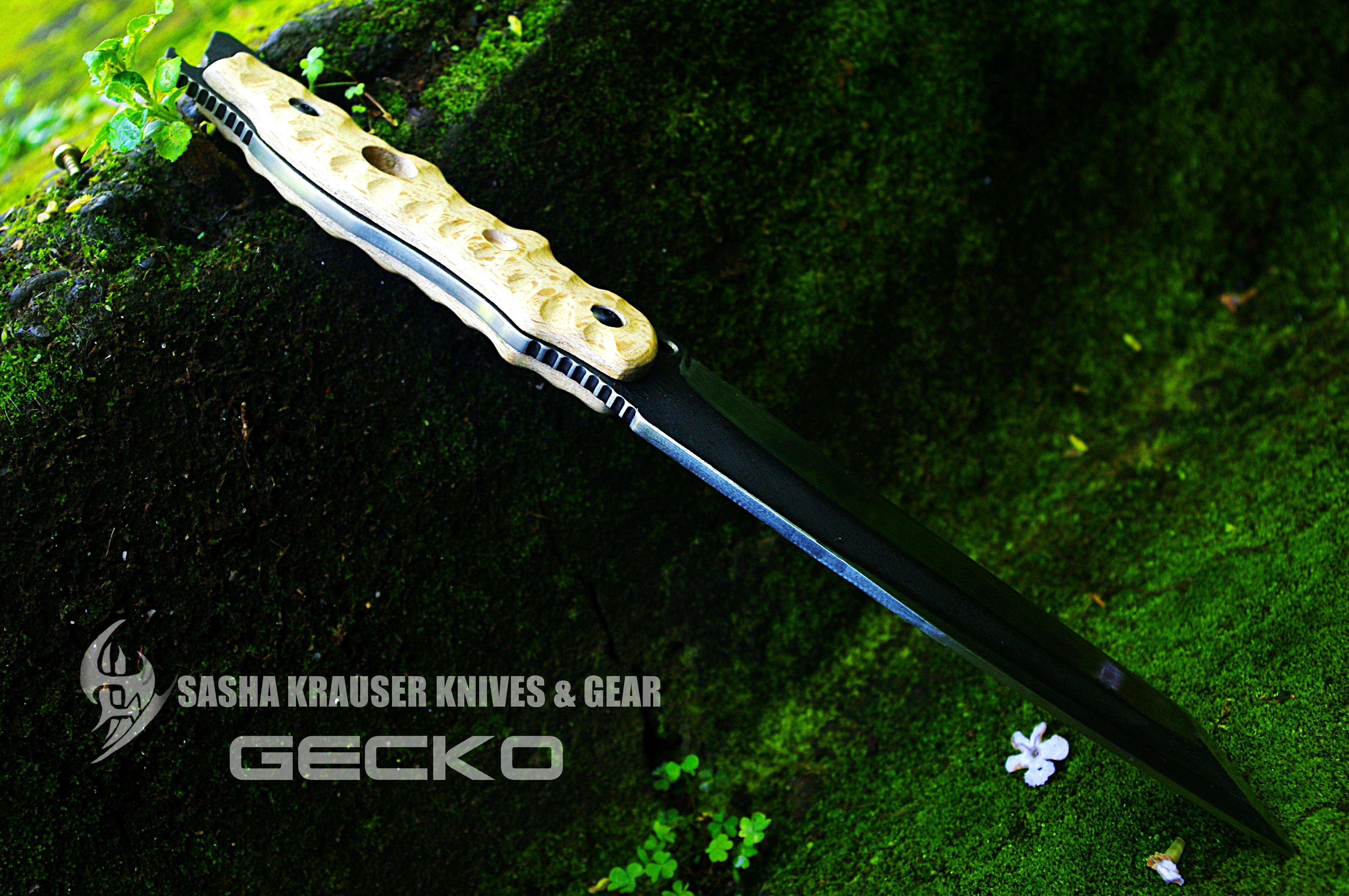 Gecko tactical tanto unbreakable