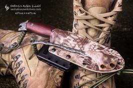 kydex sheath snake desert on estrela reptilian