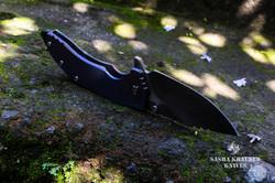 Katharsys clip point K2 folding knife