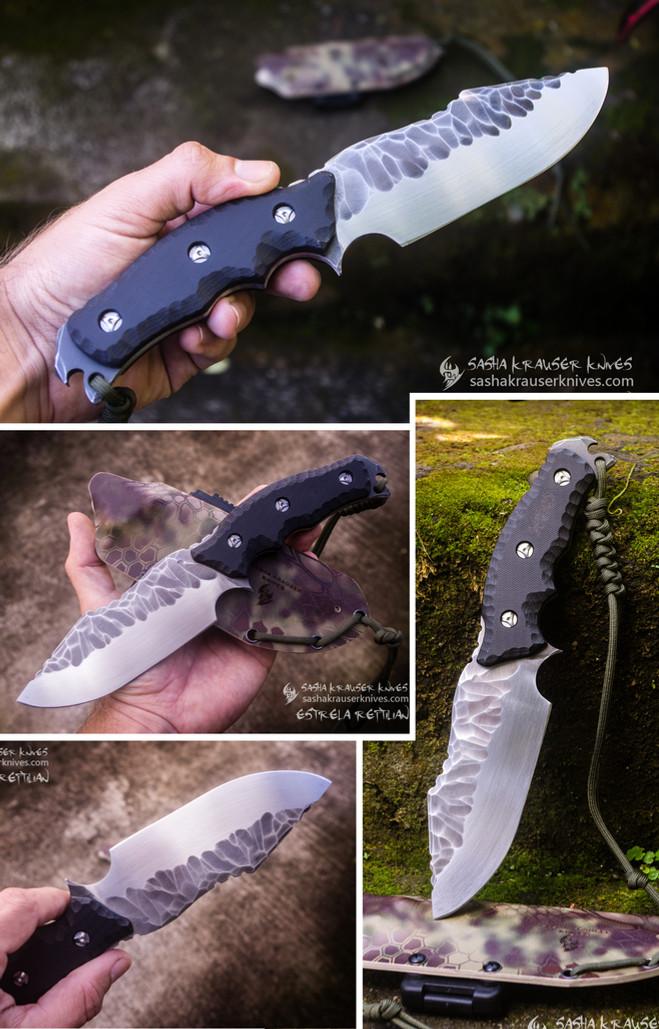 estrela reptilian fulltang toxifed knife