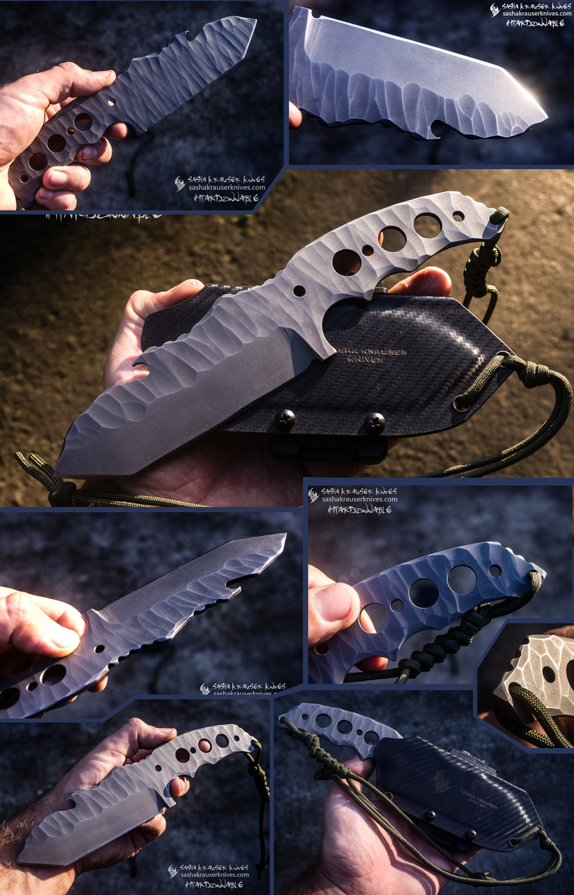 impardonnable edc tactical combat knife