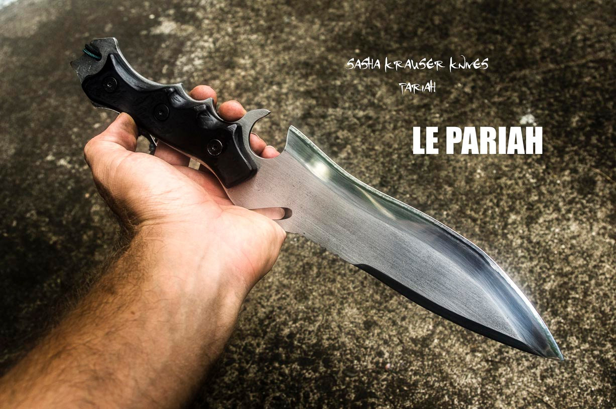 pariah jack krauser re4 knife