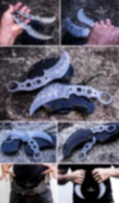 karambit raptor claw badass knife