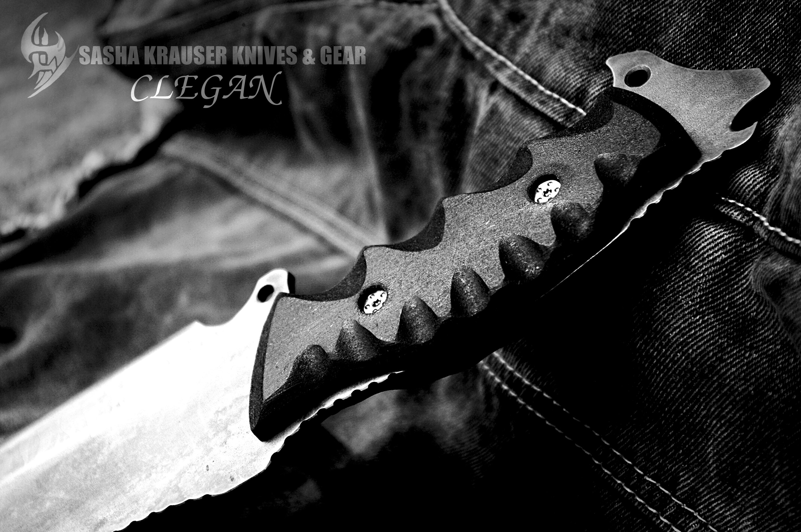 clégan full tang hunting knife