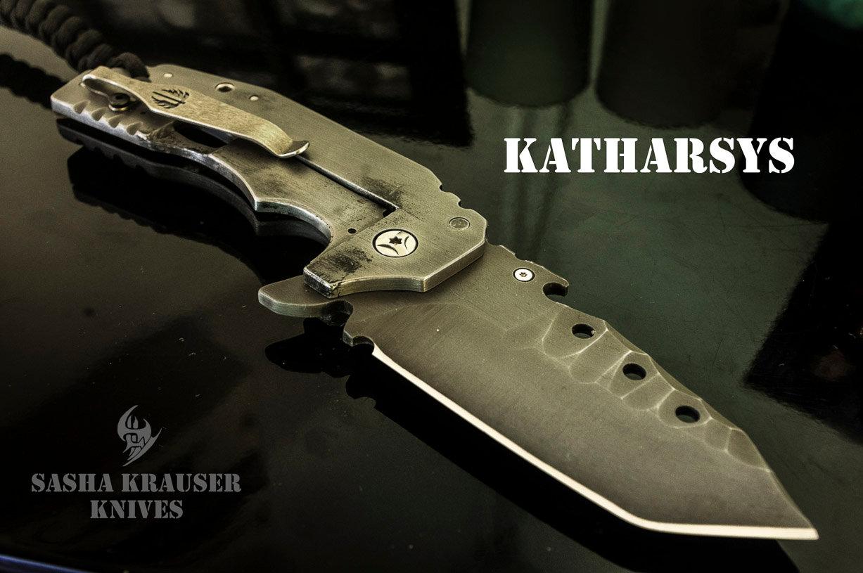 Katharsys edc tanto folding knife