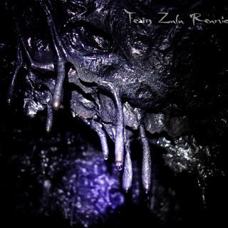 Stalactites de basalte dans les tunnels de lave