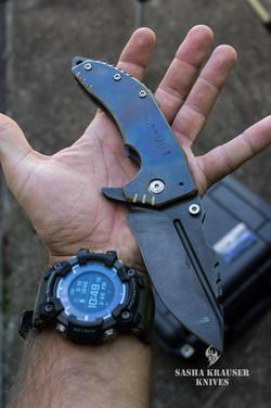 couteau pliant outdoor indestructible