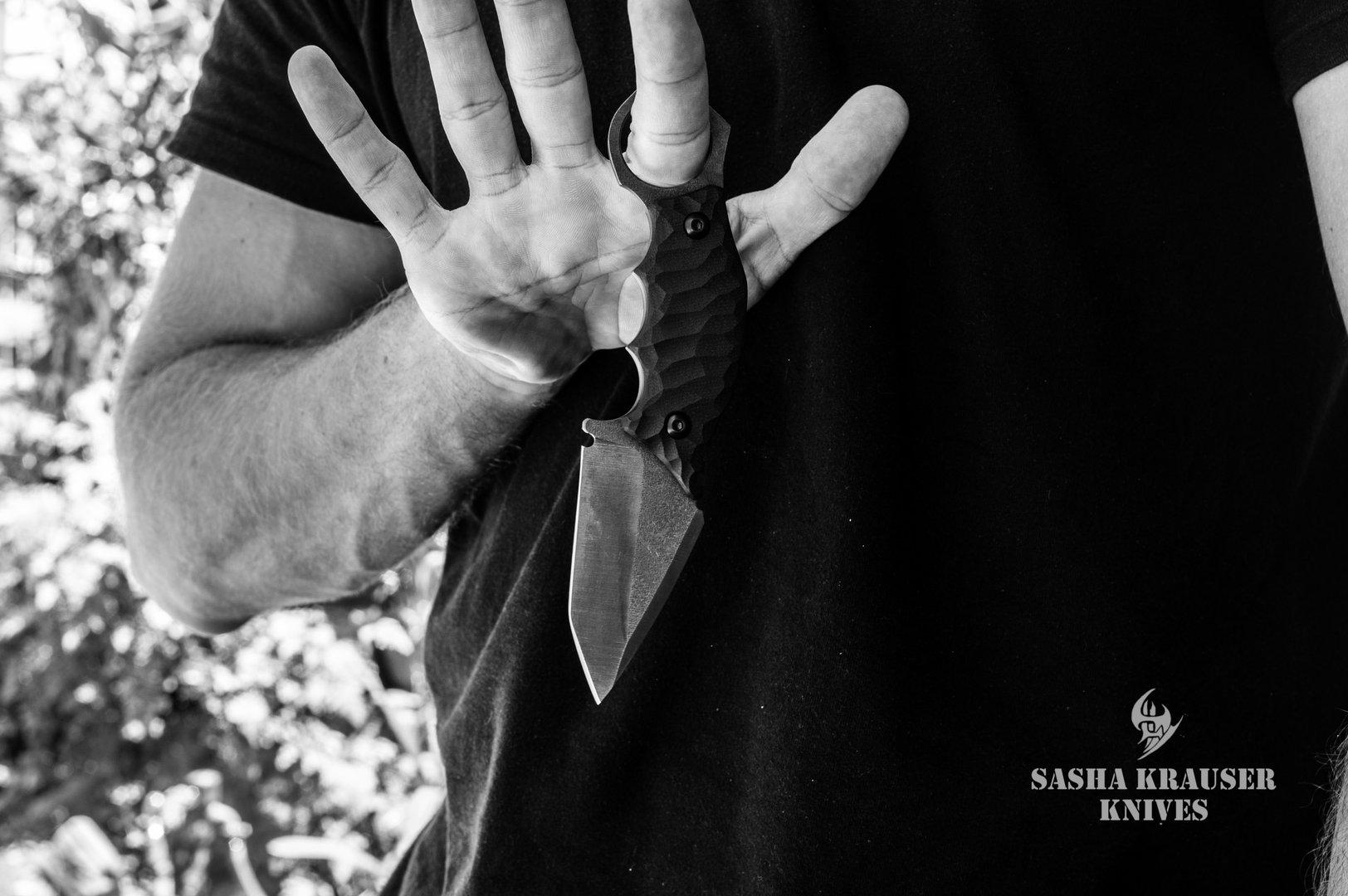 couteau de combat karambit backup