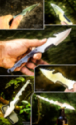 harpaguedon xl survival harpoon knife