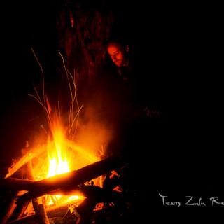 team zulu feu de camp