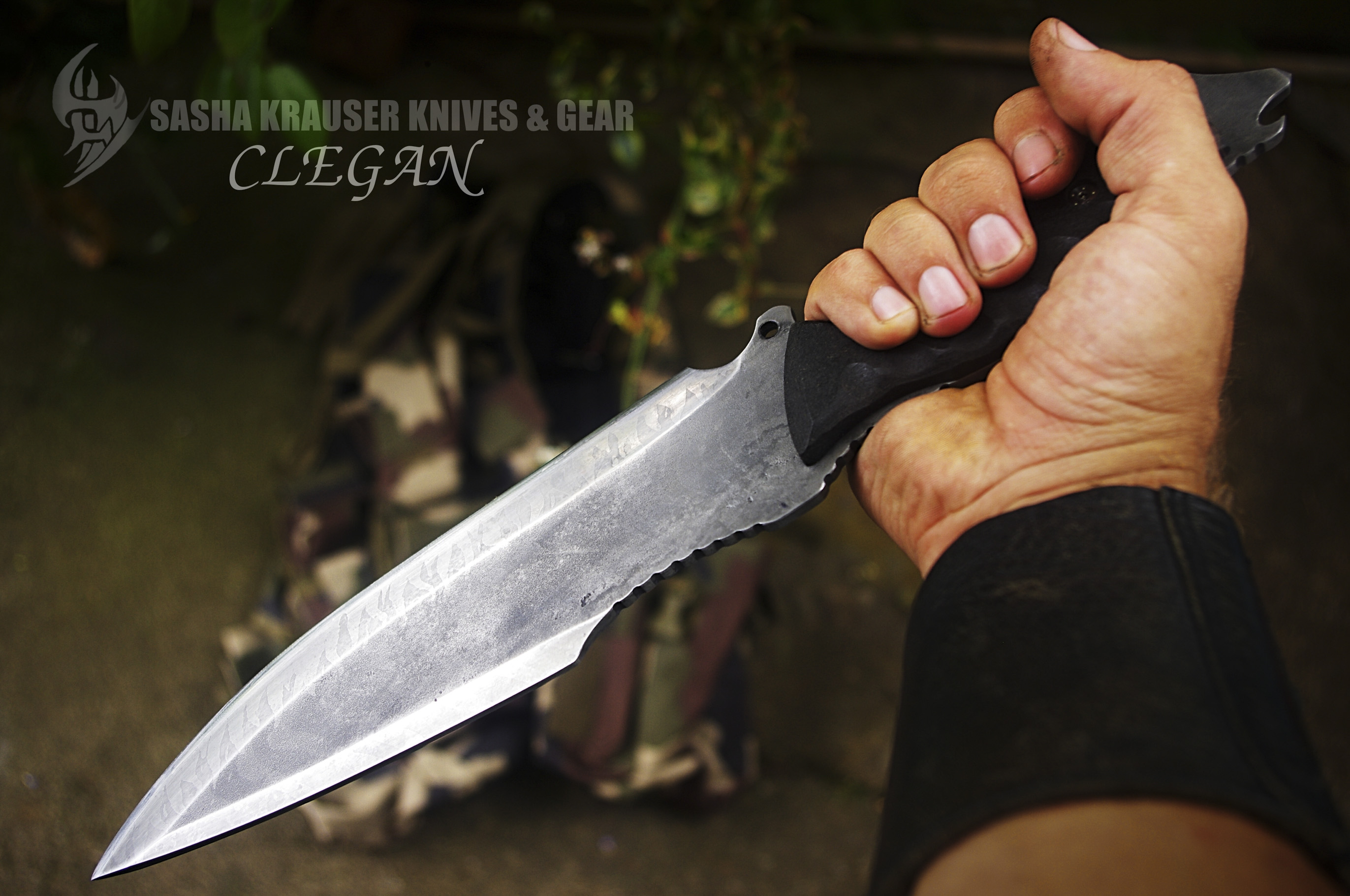 clégan survival bushcraft full tang