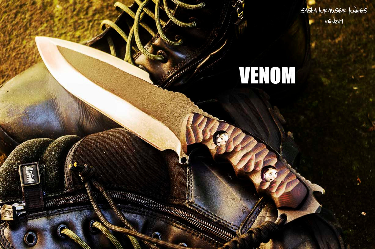 Venom big fighter knife