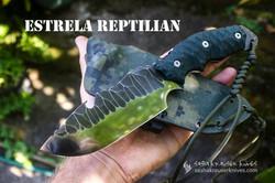 estrela reptilian badass knife