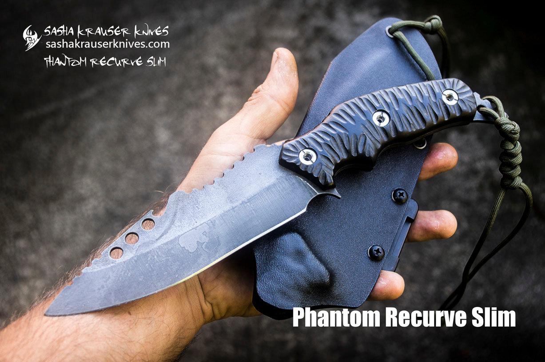 Phantom Recurve couteau combat