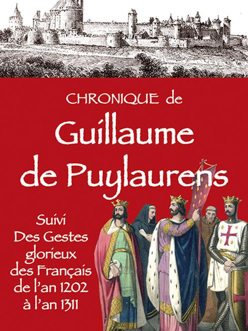 Chronique de Guillaume de Puylaurens