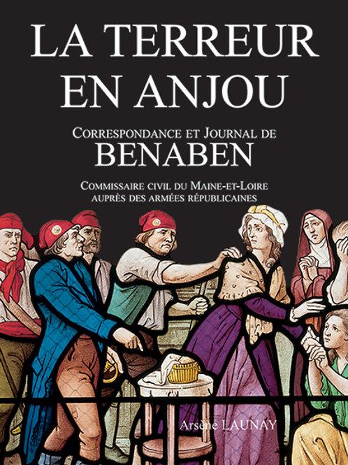 La Terreur en Anjou, correspondance et journal de Benaben par Arsène LAUNAY