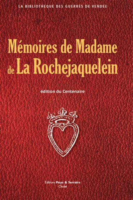Mémoires de Madame de La Rochejaquelein
