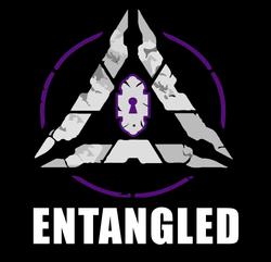 Logo with Entangled Name