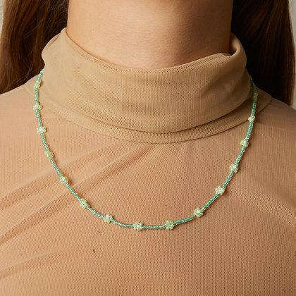 jade daisy chain necklace