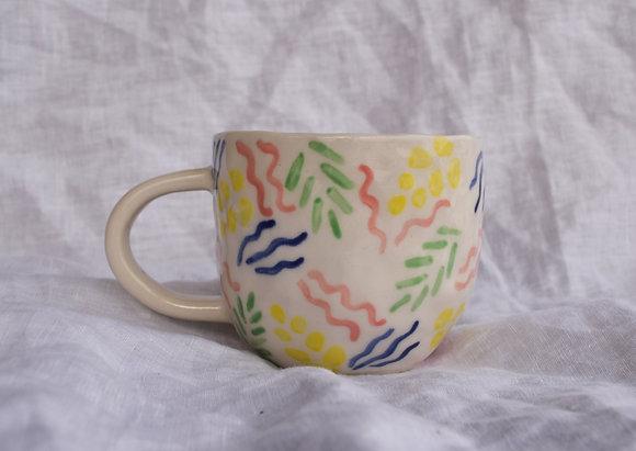 party plant seaside mug