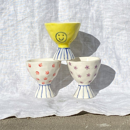 assorted egg cups