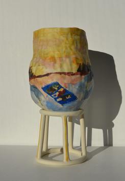 Day Naps Vase
