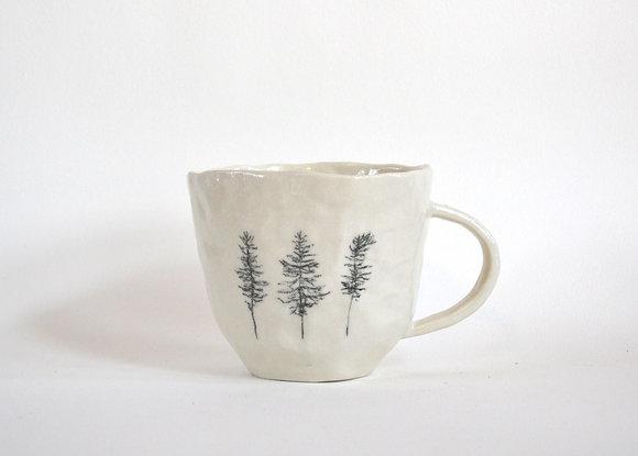 stick tree mug