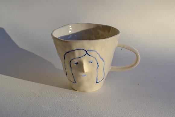 grumpy gal mug