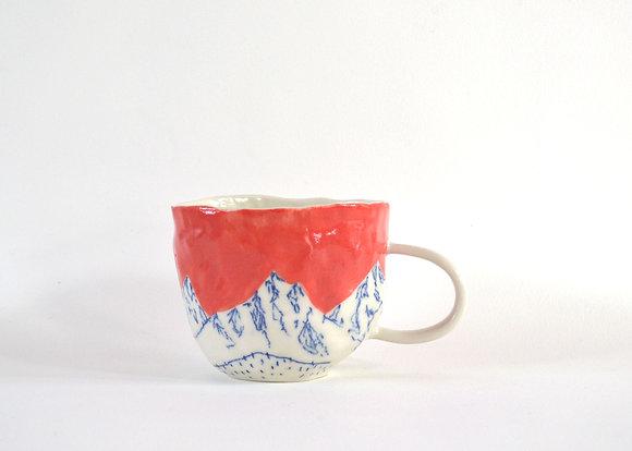 Red Mountain Mug