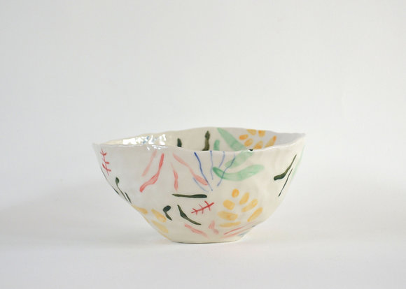party plant tropical bowl