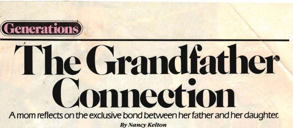 The Grandfather Connection