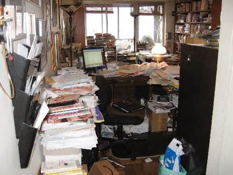 DECLUTTER YOUR HOME OFFICE DAY