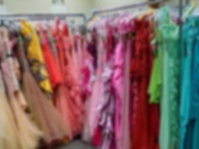 Cinderella's Closet Dress Inventoy