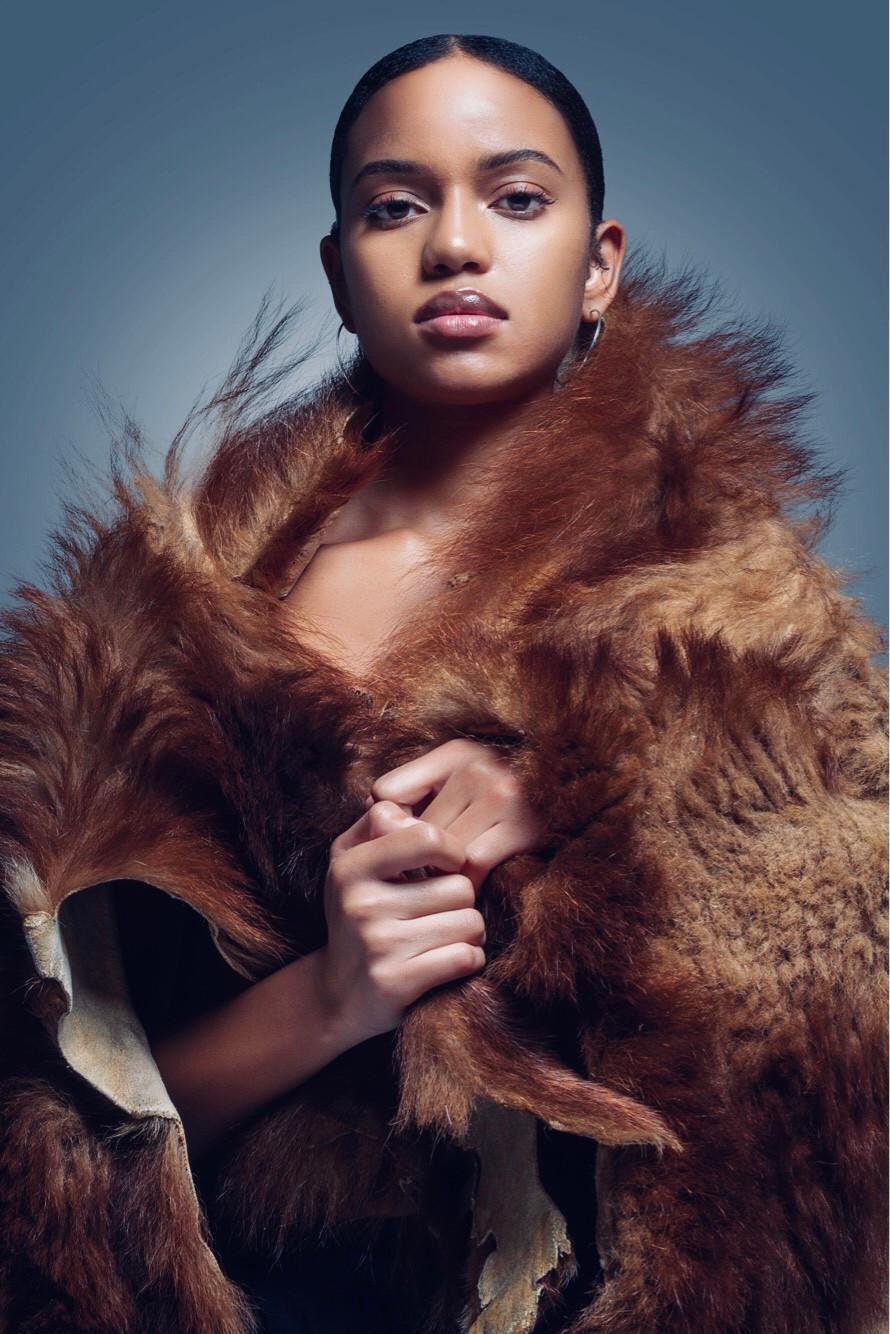 Editorial Fashion Photography Portrait of NYC Model Briana