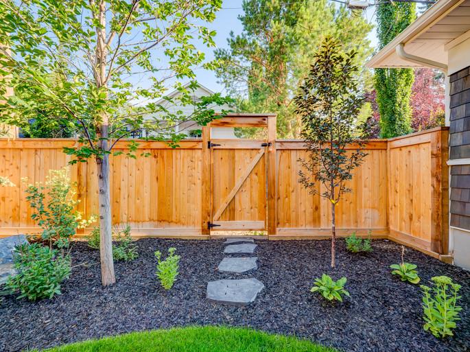 Custom Cedar Fence 2018