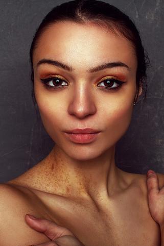 Beautiful Portrait of NYC Model Danica Brisco shot at HQPixel Studios in Bushwick / East Williamsburg, Brooklyn, New York by Headshot & Portrait Photographer Forrest Renaissance
