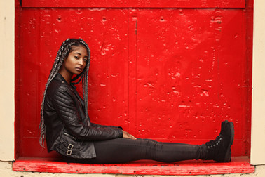 Editorial Fashion Photography Image of Myori Granger shot at HQPixel Studios in Bushwick / East Williamsburg, Brooklyn, New York
