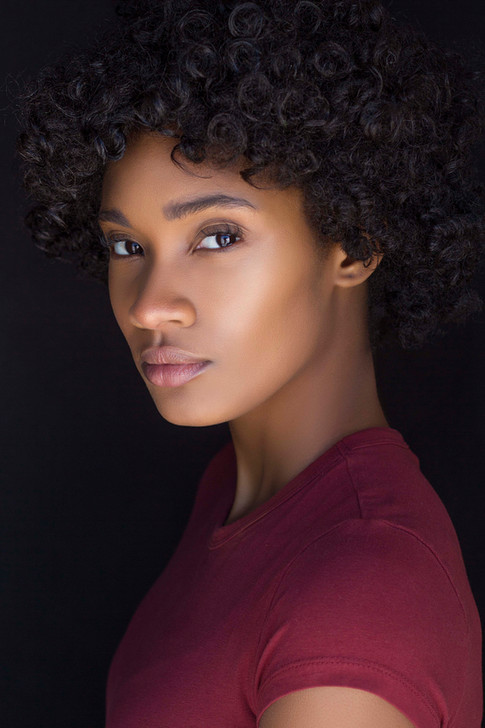 Actor Headshot Shot By Headshot Photographer Forrest Renaissance of model Epiphany Alayah