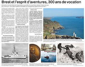Brest et l'esprit d'aventure, 300 ans de