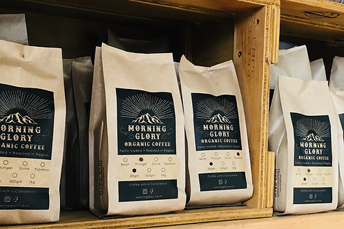 12 x Subscription - Morning Glory Organic Coffee